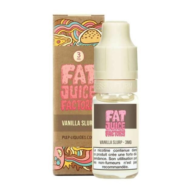 Vanilla slurp 10ML -  Fat Juice Factory by Pulp