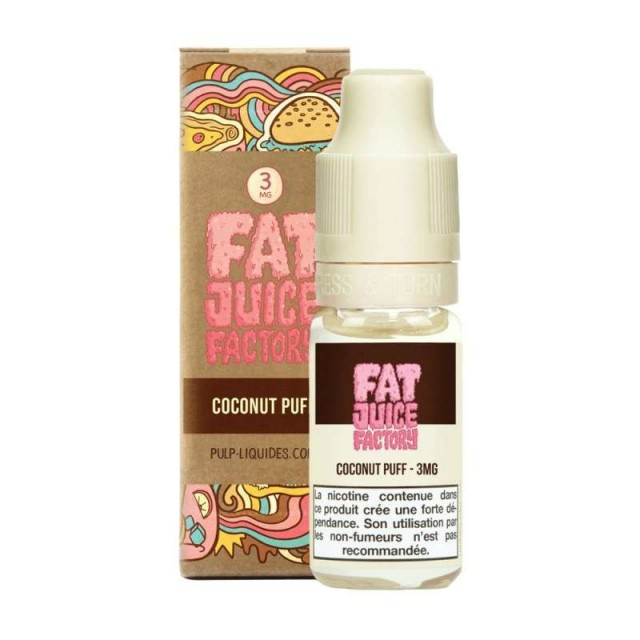 Coconut Puff 10ML -  Fat Juice Factory by Pulp