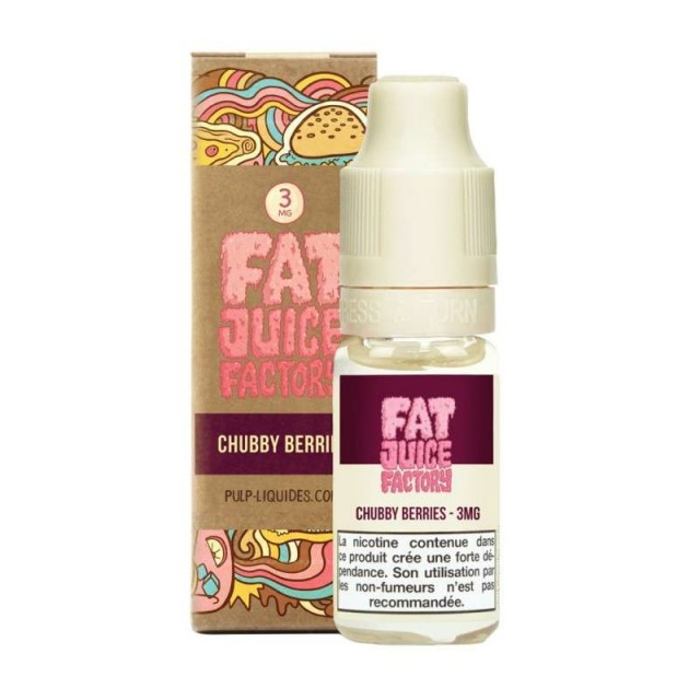 Chubby Berries 10ML -  Fat Juice Factory by Pulp