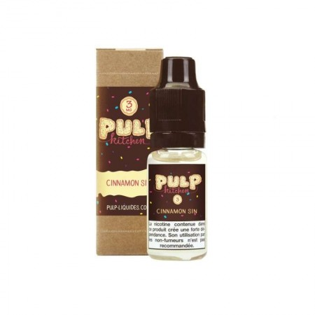 Orange épicée 10ML -  Pulp Kitchen by Pulp-e-clopevape