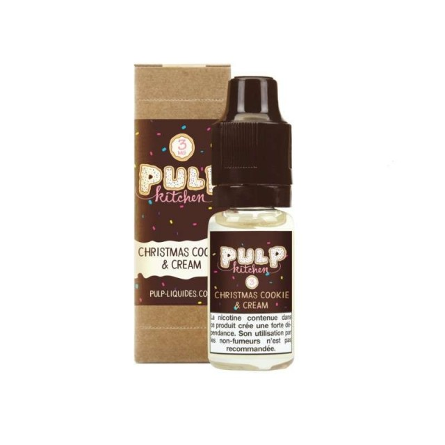 Christmas Cookie & Cream 10ML -  Pulp Kitchen by Pulp-e-clopevape