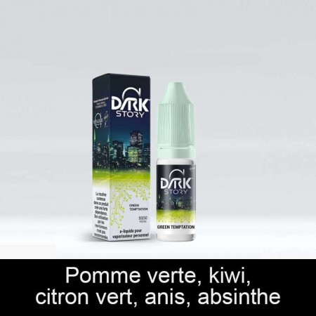 E-LIQUIDE GREEN TEMPTATION DARK STORY ALFALIQUID