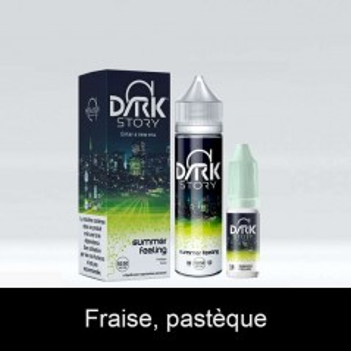 E-Liquide Summer Feeling 50Ml + Booster 10Ml Dark Story Alfaliquid