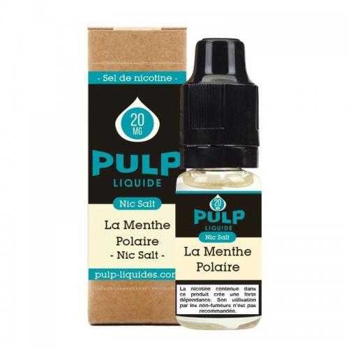E-liquide La Menthe Polaire sel de nicotine Pulp