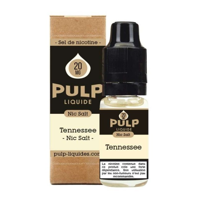 E-liquide Tennessee Blend sel de nicotine Pulp-e-clopevape