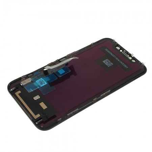 Ecran compatible - iPhone XR - Noir