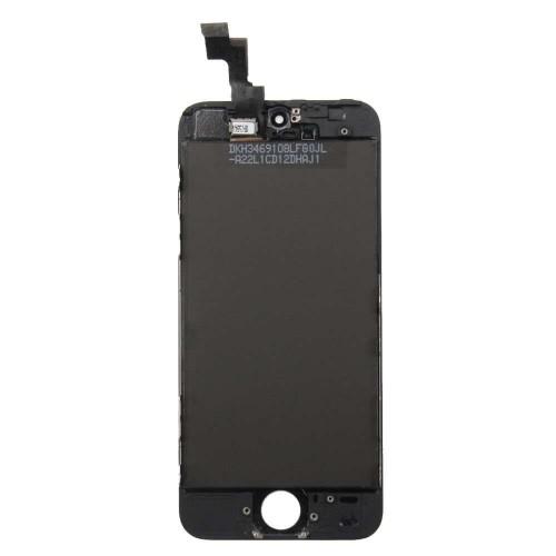 Ecran compatible - iPhone 5S - Noir