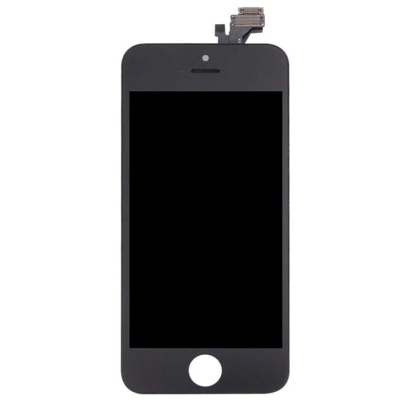 Ecran compatible - iPhone 5 - Noir