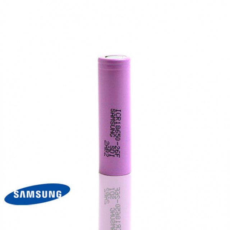 Batterie SAMSUNG ICR18650-26F - e-clopevape-e-clopevape