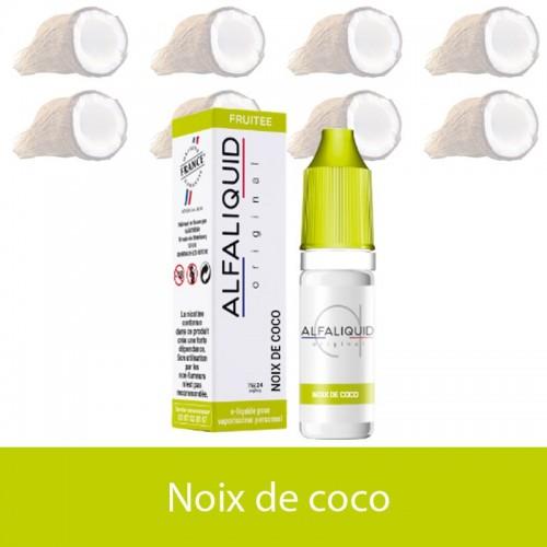Noix de coco -alfaliquide - e-clopevape