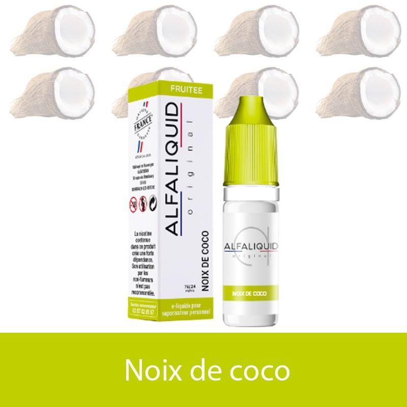 Noix de coco -alfaliquide - e-clopevape-e-clopevape