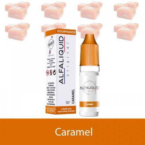 E-liquide Caramel ALFALIQUID - e-clopevape