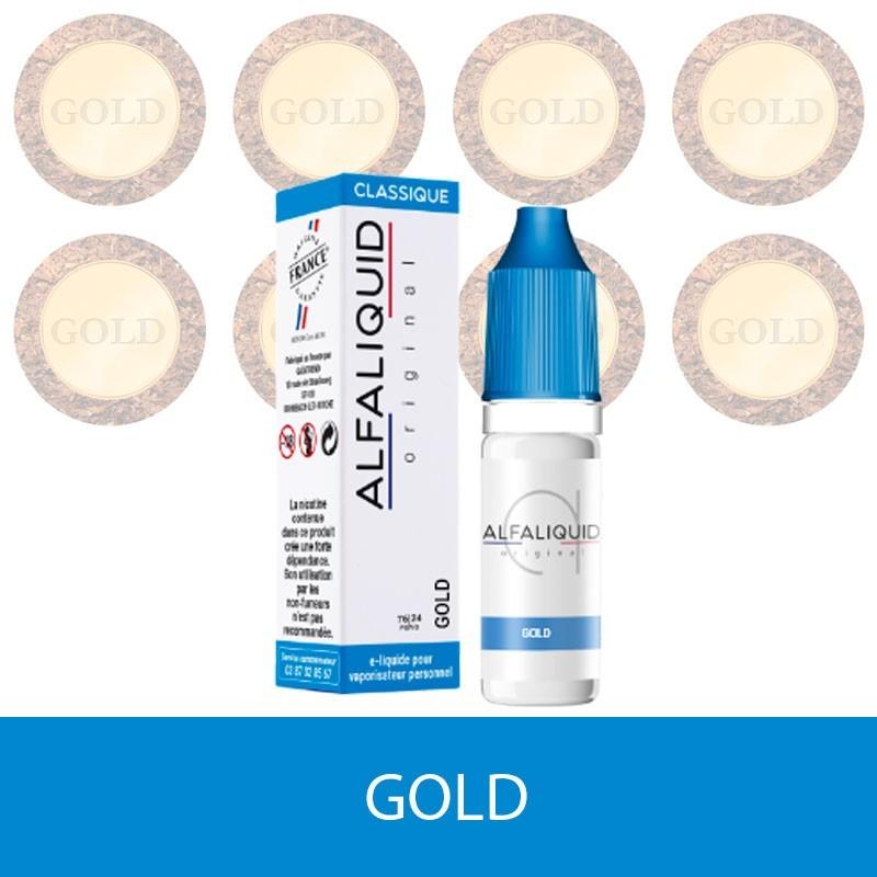 E-liquide Gold ALFALIQUID - e-clopevape