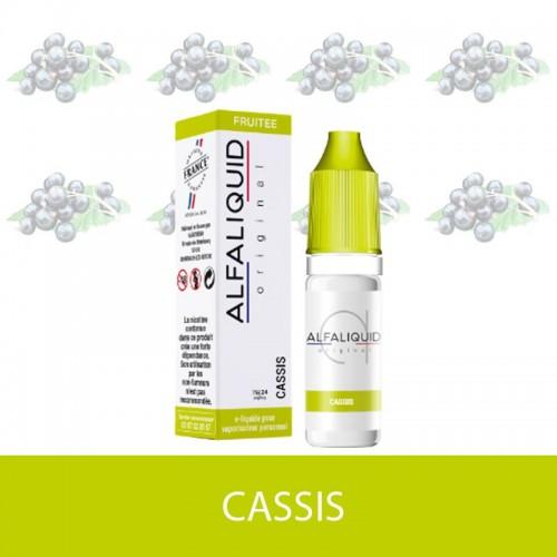 E-liquide cassis alfaliquid - e-clopevape
