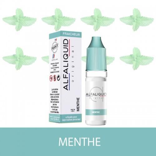 E-Liquide Menthe Alfaliquid