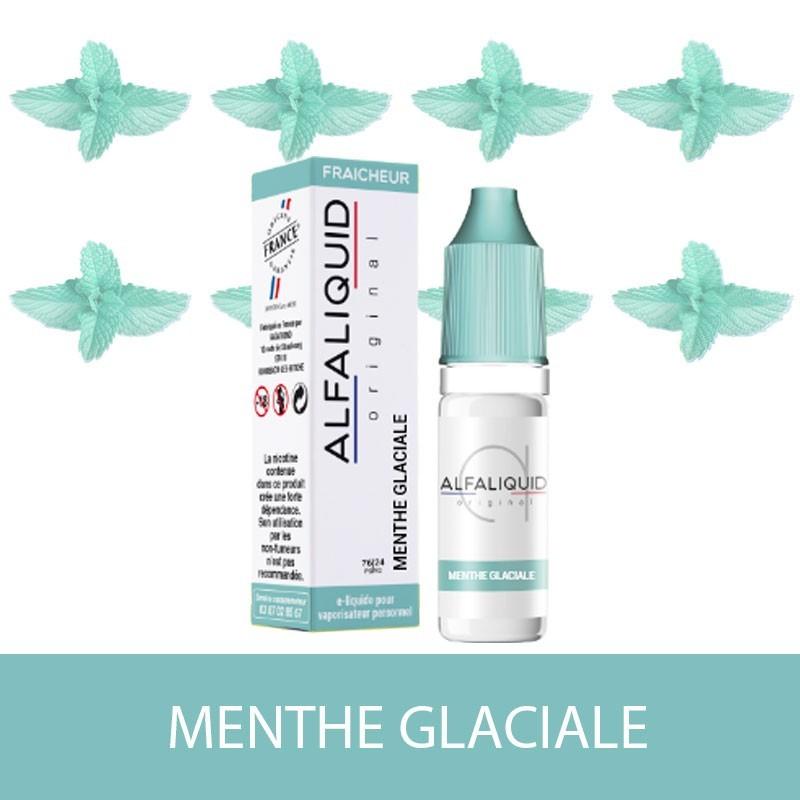 E-liquide Menthe Glaciale ALFALIQUID - e-clopevape-e-clopevape