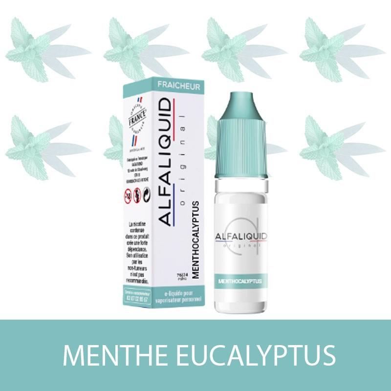 E-liquide Menthe Eucalyptus ALFALIQUID - e-clopevape-e-clopevape