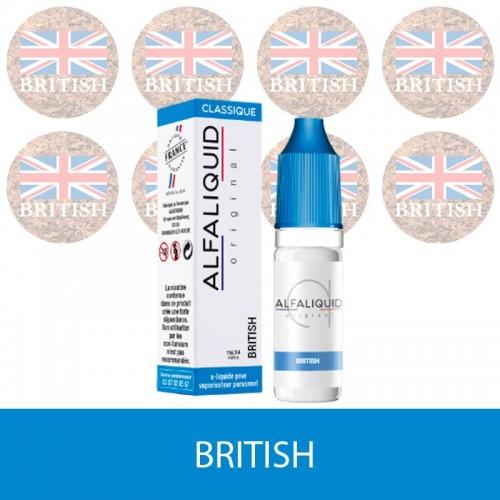E-liquide british alfaliquid - e-clopevape