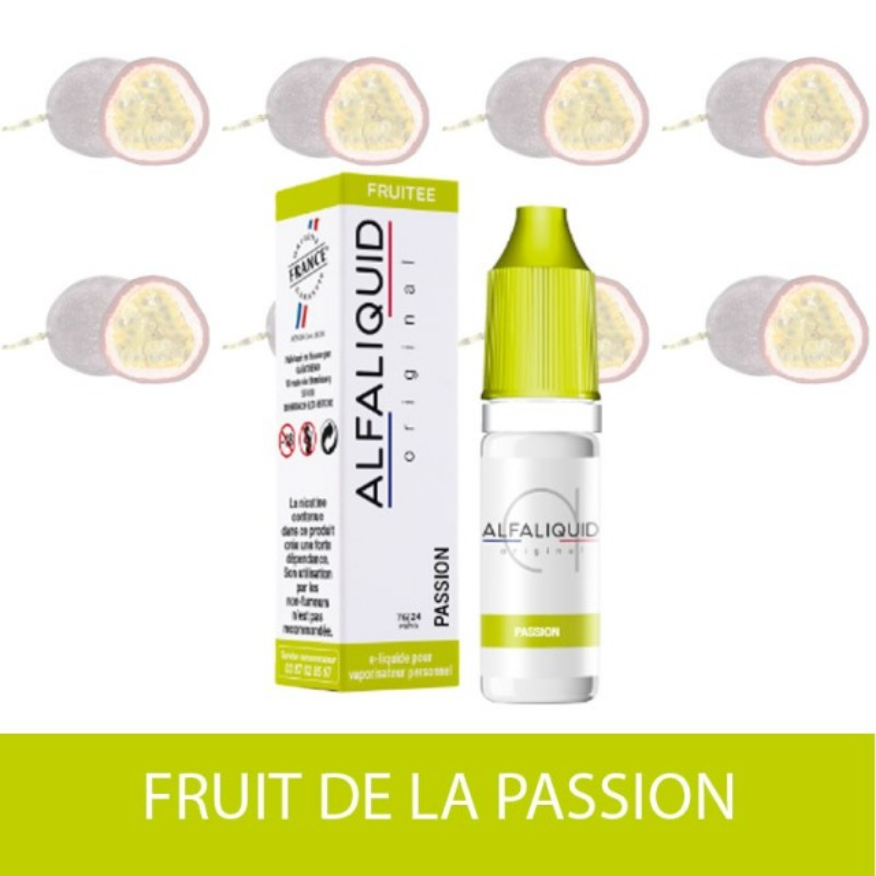 IMAGE E-LIQUIDE FRUIT DE LA PASSION  ALFALIQUIDE - e-clopevape-e-clopevape