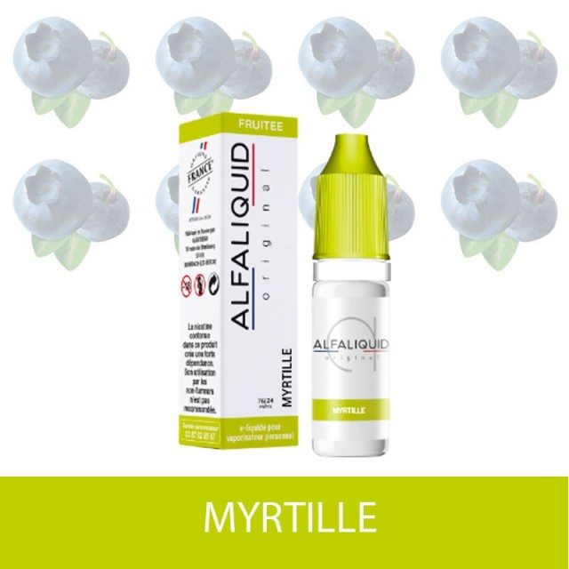 E-Liquide Myrtille Alfaliquid-e-clopevape