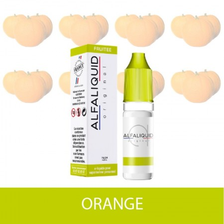 E-liquide Orange ALFALIQUID