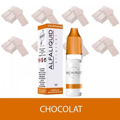 IMAGE E-LIQUIDE CHOCOLAT ALFALIQUIDE - e-clopevape