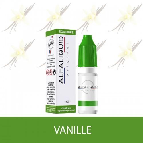 E-liquide Vanille ALFALIQUID