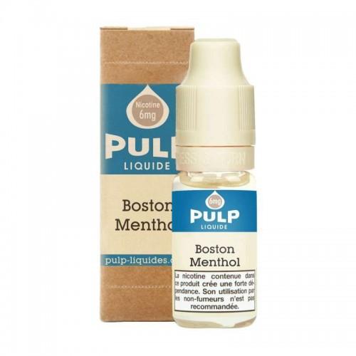 Image e-liquide Boston Menthol Pulp