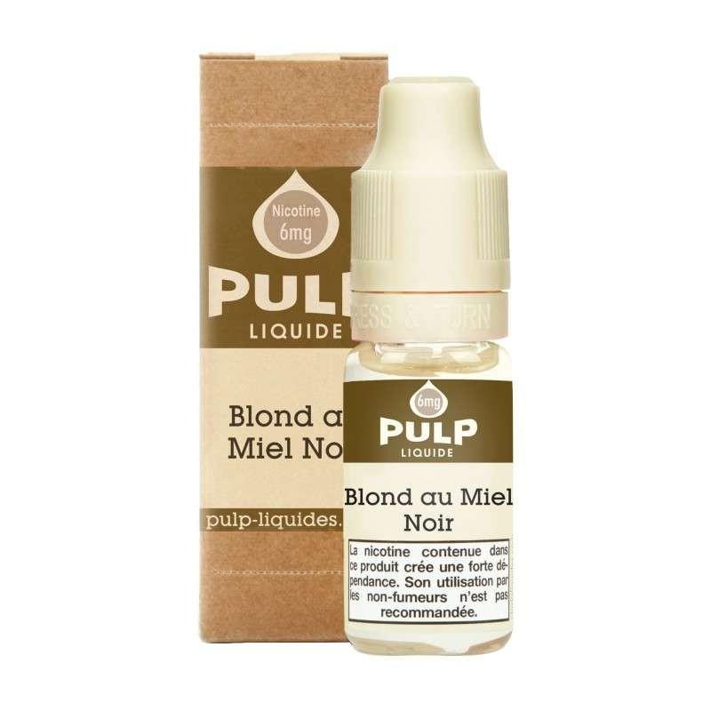 Image E-liquide Blond Au Miel Noir Pulp-e-clopevape