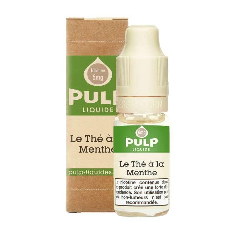 Image E-liquide Le The a la Menthe Pulp-e-clopevape