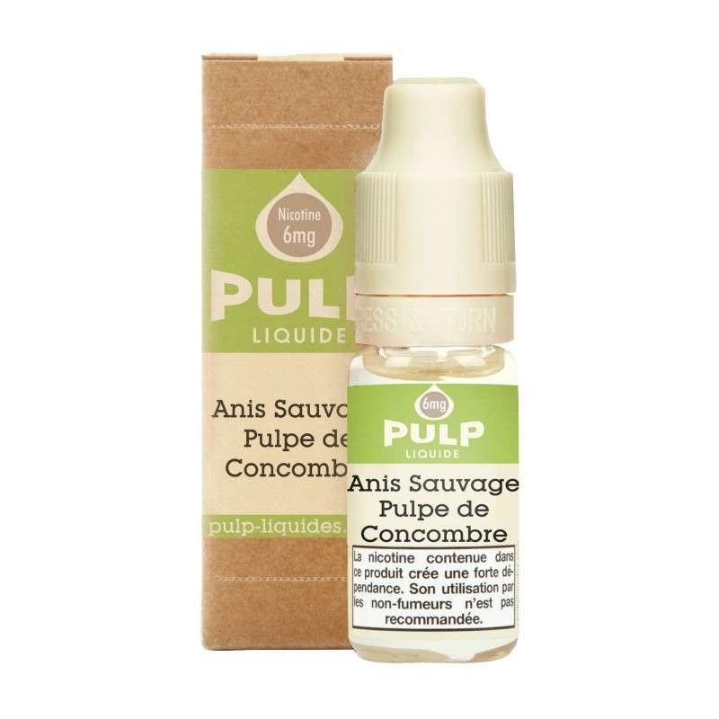 Image E-liquide Anis Sauvage Pulpe de concombre Pulp-e-clopevape
