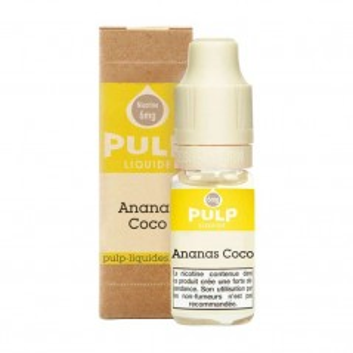 Image E-liquide Ananas Coco Pulp