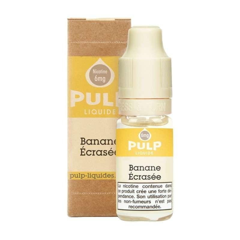 Image E-liquide Banane Ecrasee Pulp-e-clopevape