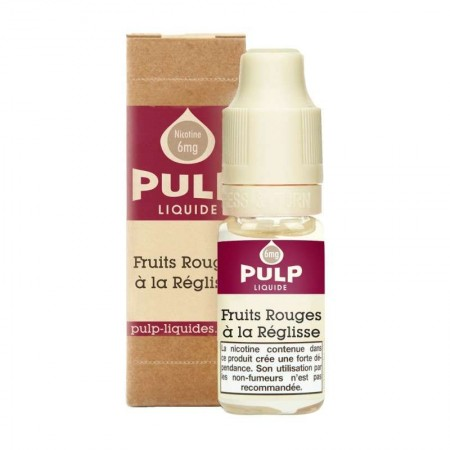 E-liquide Fruits Rouges a la Reglisse Pulp