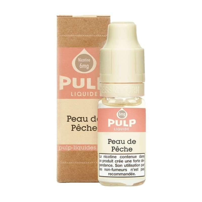 Image E-liquide Peau de Peche Pulp-e-clopevape